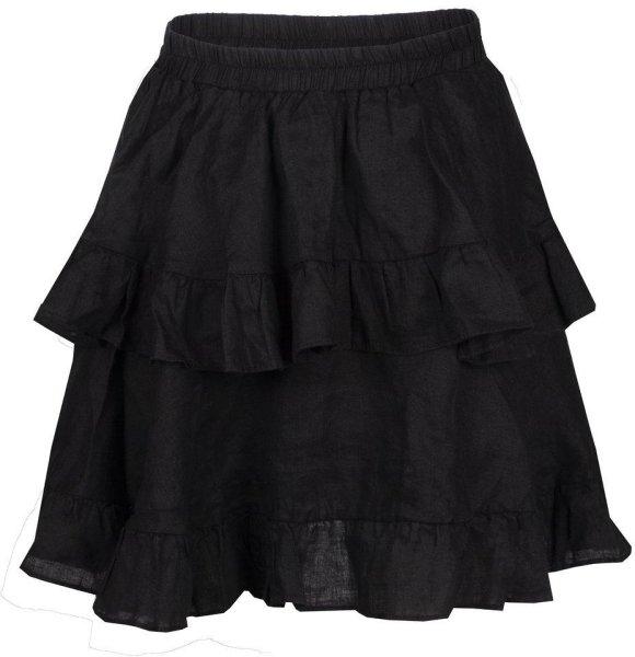 Line of Oslo Chloe Linen Skirt