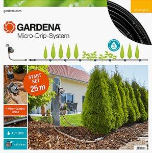 Gardena Startsett Micro-Drip-System M Planterekker m/timer (13012-20)