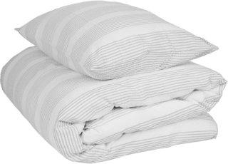 Krepp sengesett striper