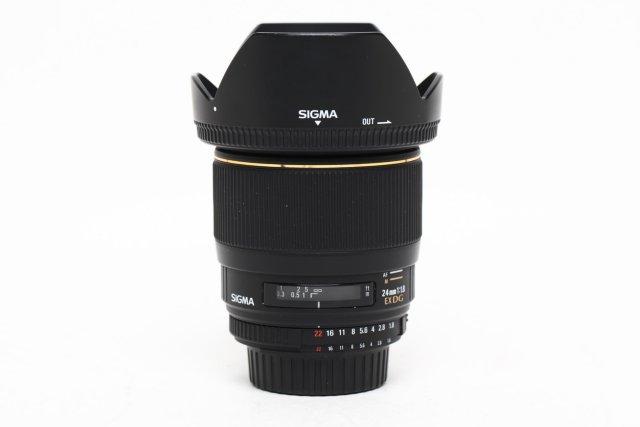 Sigma 24mm F/1.8 EX Aspherical DG DF Macro for Nikon