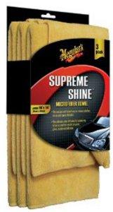 Meguiars Supreme Shine Microfiber 3-pk
