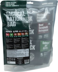Tactical Foodpack Sixpack Alpha