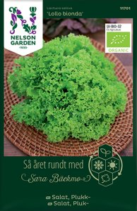 Salatfrø Lollo Bionda