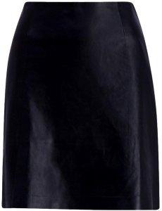 Belle leather skirt