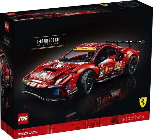 LEGO Technic 42125 Ferrari 488 GTE AF Corse