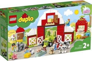 Duplo Town 10952 Låve, traktor og gårdsdyr