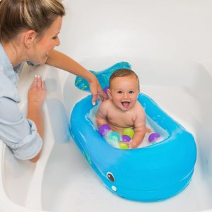 oppblåsbart badekar