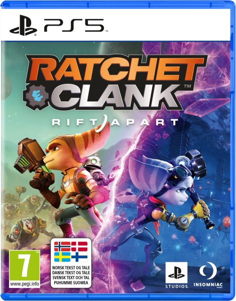 Ratchet and Clank: Rift Apart til PlayStation 5