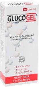 Hurtigvirkende dextrosegel 3x25 gram