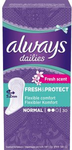 Dailies Fresh & Protect Normal Liner 30 stk