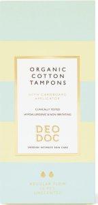 Organic Cotton Tampons Regular
