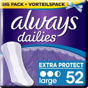 Dailies Large Liners 52 stk