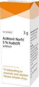 Norfri Hudstift 5 % 3 g