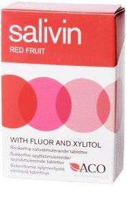 Salivin Red Fruits Sugetabletter 50g