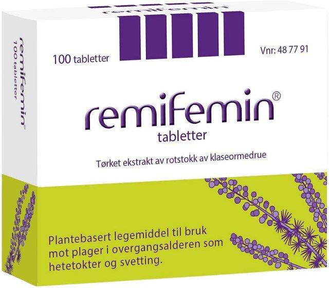 Remifemin Tabletter 2,5mg 100 stk