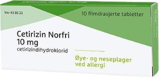 10 mg 10 stk