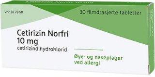 10 mg 30 stk