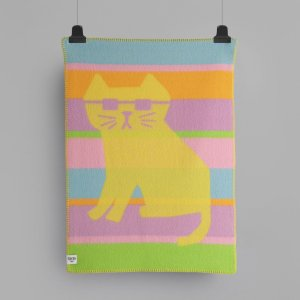 By Hands Babypledd Cool Cats, 100X67 cm