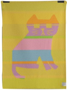 By Hands Babypledd Cool Cats, 100X135 cm