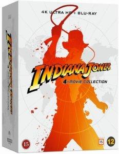 Jones: 4-Movie Collection (4K Ultra HD Blu-ray)