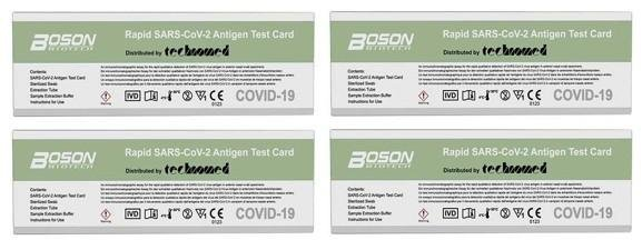 Boson Biotech Covid-19 Selvtest 4 stk