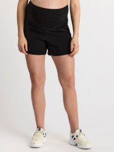 MOM-shorts i viskose