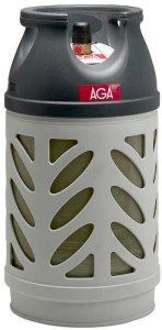 Propanflaske Kompositt m/gass 10kg