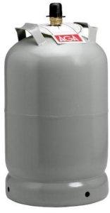 Propanflaske Stål m/gass 11kg