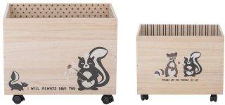 Nonni oppbevaringskasser, 2-pack