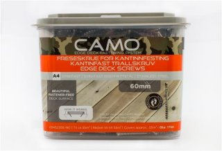 Camo Freseskrue A4 3x60mm (1750 stk)