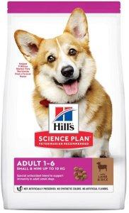 Hill's Science Plan Adult 1-6 Small & Mini Lam og Ris (6 kg)