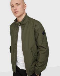 D1. Nylon Harrington Jacket