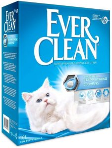 Ever Clean Extra Strong Clumping Unscented Kattesand 2x10 L