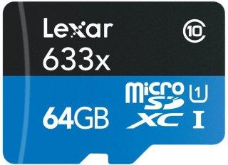 Lexar 633X microSDXC 64GB Class 10