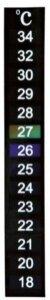 Digitaltermometer til akvarium