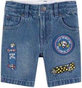 Kids Skate Badge Jeans-shorts