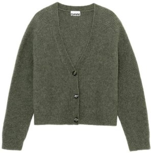Wool Cardigan Soft Wool Knit