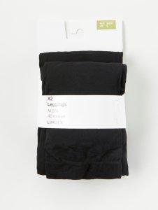MOM 2-pakning med leggings (40 denier)
