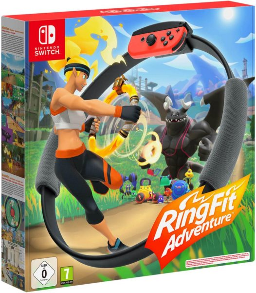 Ring Fit Adventure til Switch