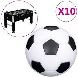 Fotballbordballer 10 stk