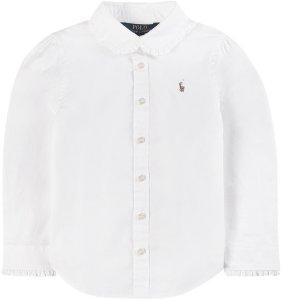 Ruffle Detail Oxfordskjorte