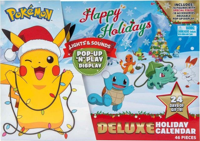 Pokémon Adventskalender Deluxe