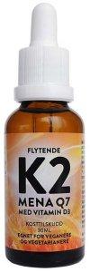 Flytende K2 med vegansk D3 30ml