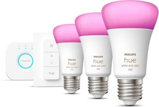 Hue White and Color Ambiance A60 E27 9W 806lm Startsett 3-pack