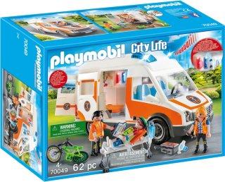 70049 City Life-ambulanse med lys og lyd