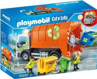 70200 City Life søppelbil med lys