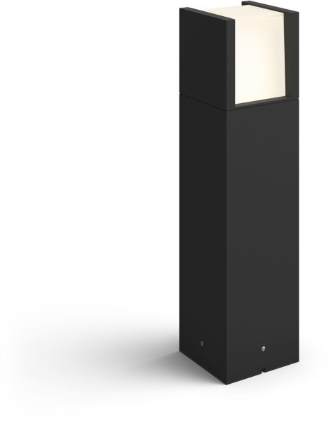 Philips Hue Outdoor White Fuzo Pedestal