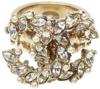 CC Rhinestone Ring