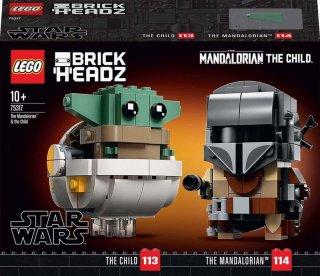 LEGO 75317 Star Wars - Mandalorianeren og barnet