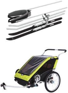Chariot Bike Trailer inkl. Ski kit